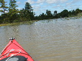 Ashville Bridge Creek flooded (Kayak Virginia Beach Images © Paul Perusse)